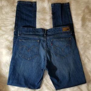 LEVI 8 29×32 Demi curve skinny modern Rise Jeans